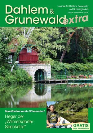 Titelbild Dahlem & Grunewald Journal 5/2016