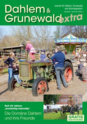 Titelbild Dahlem & Grunewald Journal 6/2016