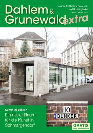 Titelbild Dahlem & Grunewald Journal 1/2017