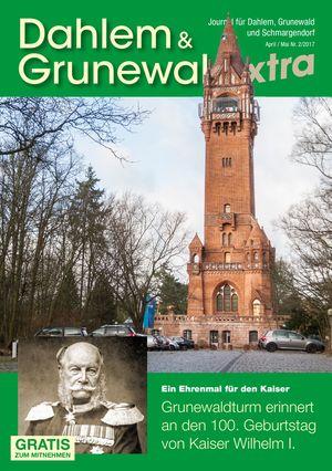 Titelbild Dahlem & Grunewald Journal 2/2017