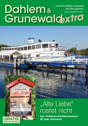 Titelbild Dahlem & Grunewald Journal 4/2017