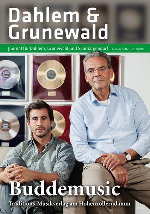 Titelbild Dahlem & Grunewald Journal 1/2018