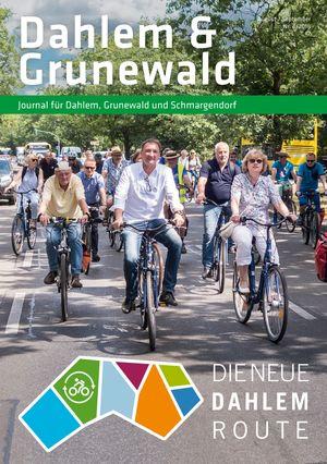 Titelbild Dahlem & Grunewald Journal 4/2018