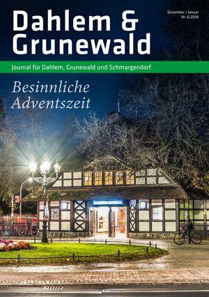Titelbild Dahlem & Grunewald Journal 6/2018