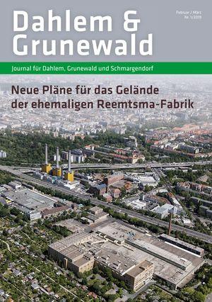 Titelbild Dahlem & Grunewald Journal 1/2019