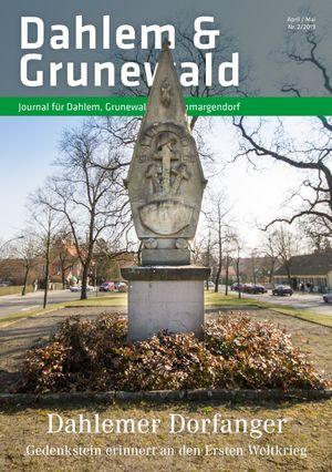 Titelbild Dahlem & Grunewald Journal 2/2019