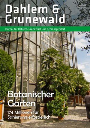 Titelbild Dahlem & Grunewald Journal 3/2019