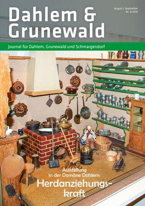 Titelbild Dahlem & Grunewald Journal 4/2019