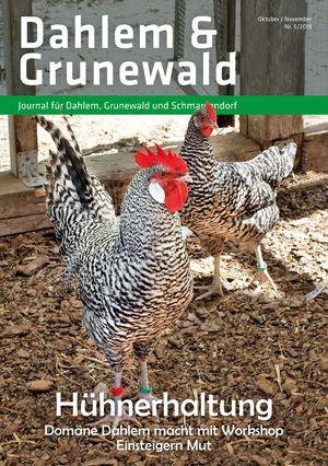 Titelbild Dahlem & Grunewald Journal 5/2019