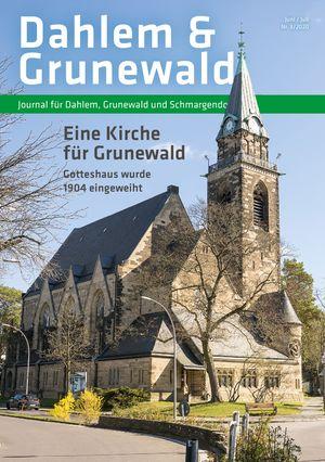 Titelbild Dahlem & Grunewald Journal 3/2020