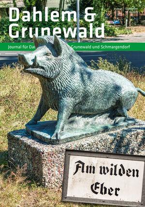 Titelbild Dahlem & Grunewald Journal 4/2020