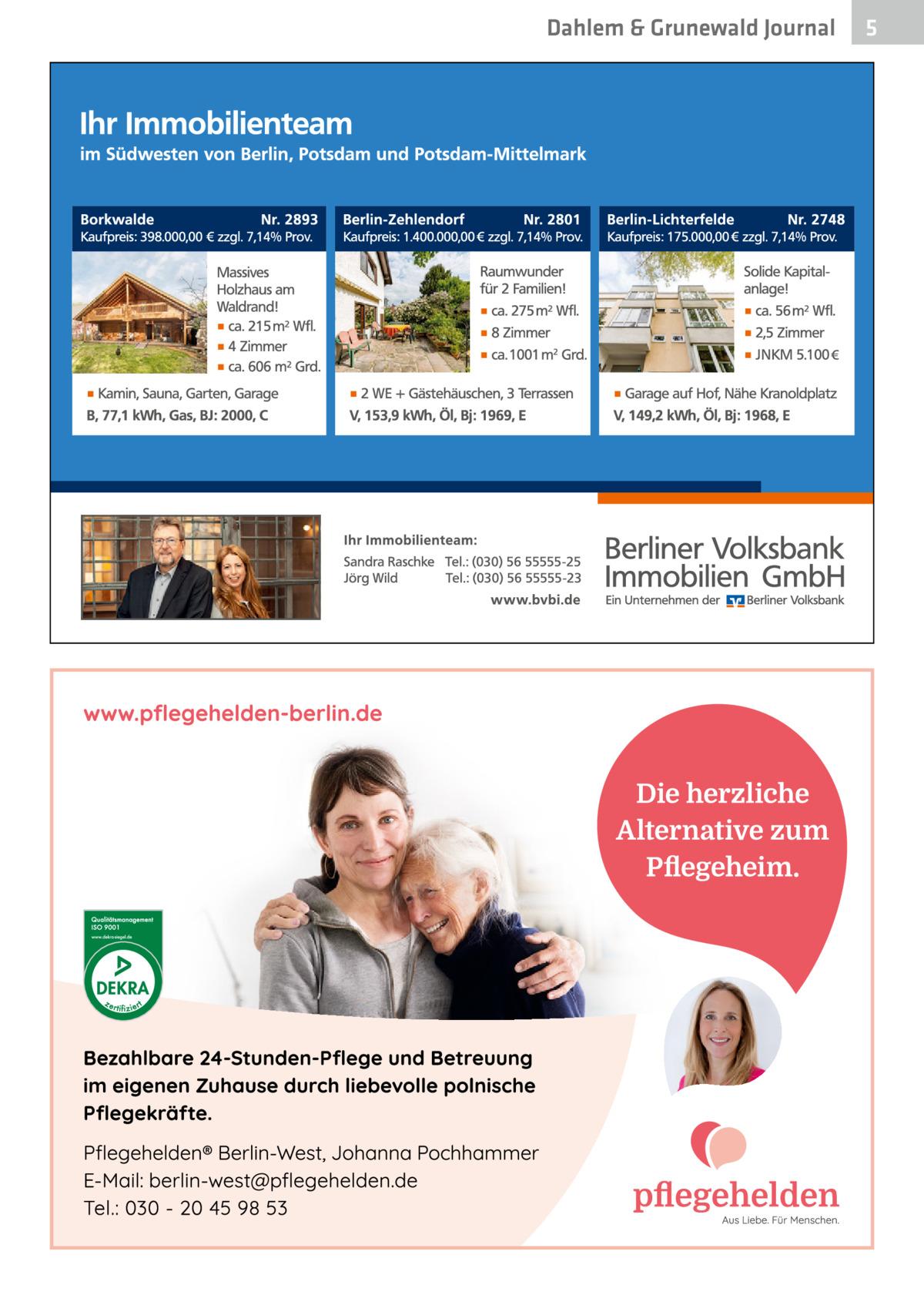 Dahlem & Grunewald Journal  5