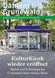 Titelbild: Dahlem & Grunewald Journal Oktober/November Nr. 5/2020