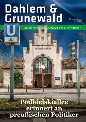 Titelbild Dahlem & Grunewald Journal 6/2020