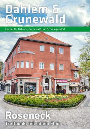 Titelbild Dahlem & Grunewald Journal 3/2021