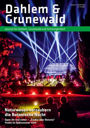 Titelbild Dahlem & Grunewald Journal 4/2021