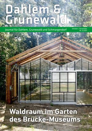 Titelbild Dahlem & Grunewald Journal 5/2021