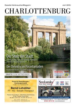 Titelbild Charlottenburg 7/2015