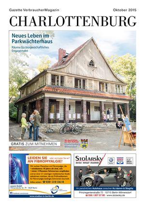 Titelbild Charlottenburg 10/2015