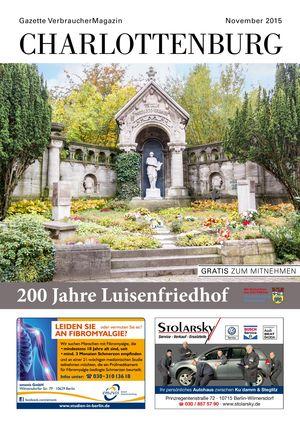 Titelbild Charlottenburg 11/2015