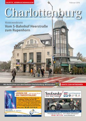Titelbild Charlottenburg 2/2016