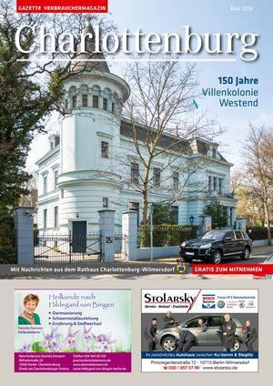 Titelbild Charlottenburg 5/2016