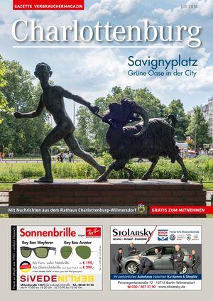 Titelbild Charlottenburg 7/2016