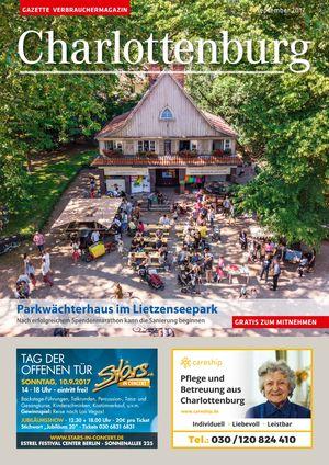 Titelbild Charlottenburg 9/2017