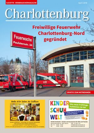 Titelbild Charlottenburg 4/2018