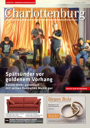 Titelbild Charlottenburg 10/2019