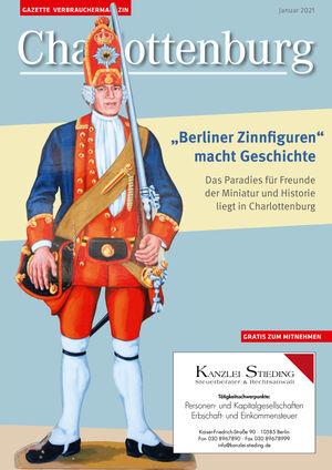 Titelbild Charlottenburg 1/2021
