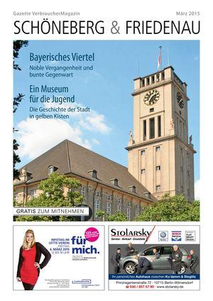 Titelbild Schöneberg & Friedenau 3/2015