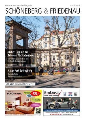 Titelbild Schöneberg & Friedenau 4/2015