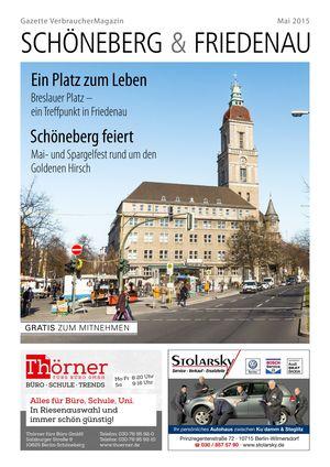 Titelbild Schöneberg & Friedenau 5/2015