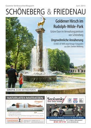 Titelbild Schöneberg & Friedenau 6/2015