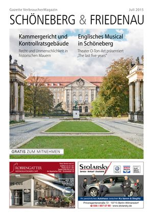 Titelbild Schöneberg & Friedenau 7/2015
