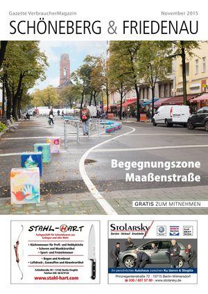 Titelbild Schöneberg & Friedenau 11/2015