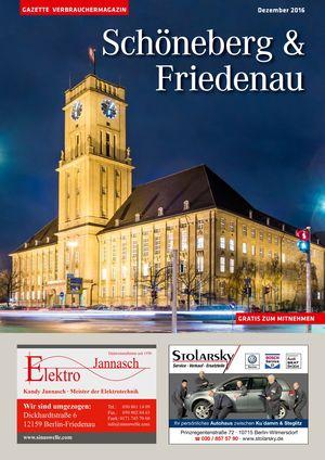 Titelbild Schöneberg & Friedenau 12/2015