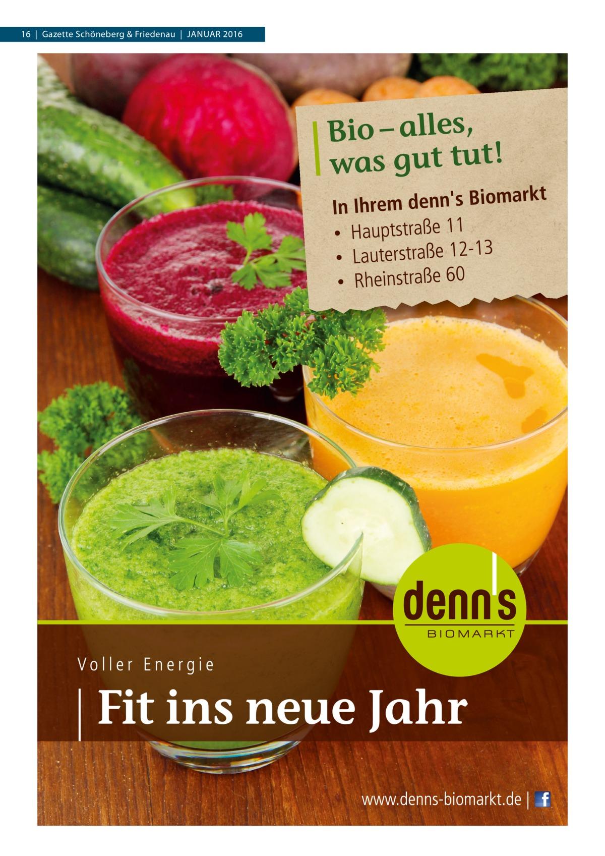 16|Gazette Schöneberg & Friedenau|Januar 2016