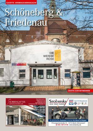 Titelbild Schöneberg & Friedenau 1/2016