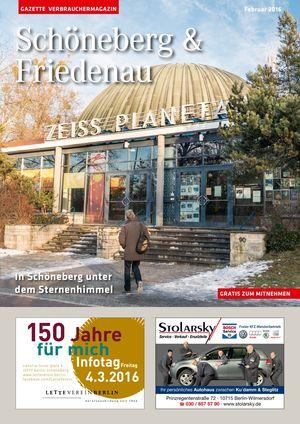 Titelbild Schöneberg & Friedenau 2/2016