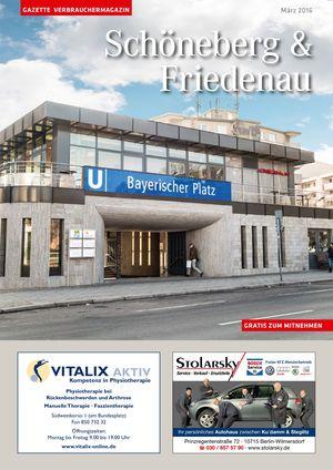 Titelbild Schöneberg & Friedenau 3/2016