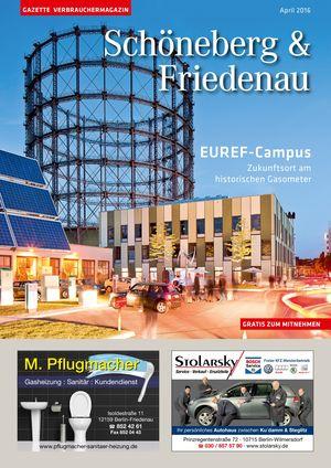 Titelbild Schöneberg & Friedenau 4/2016