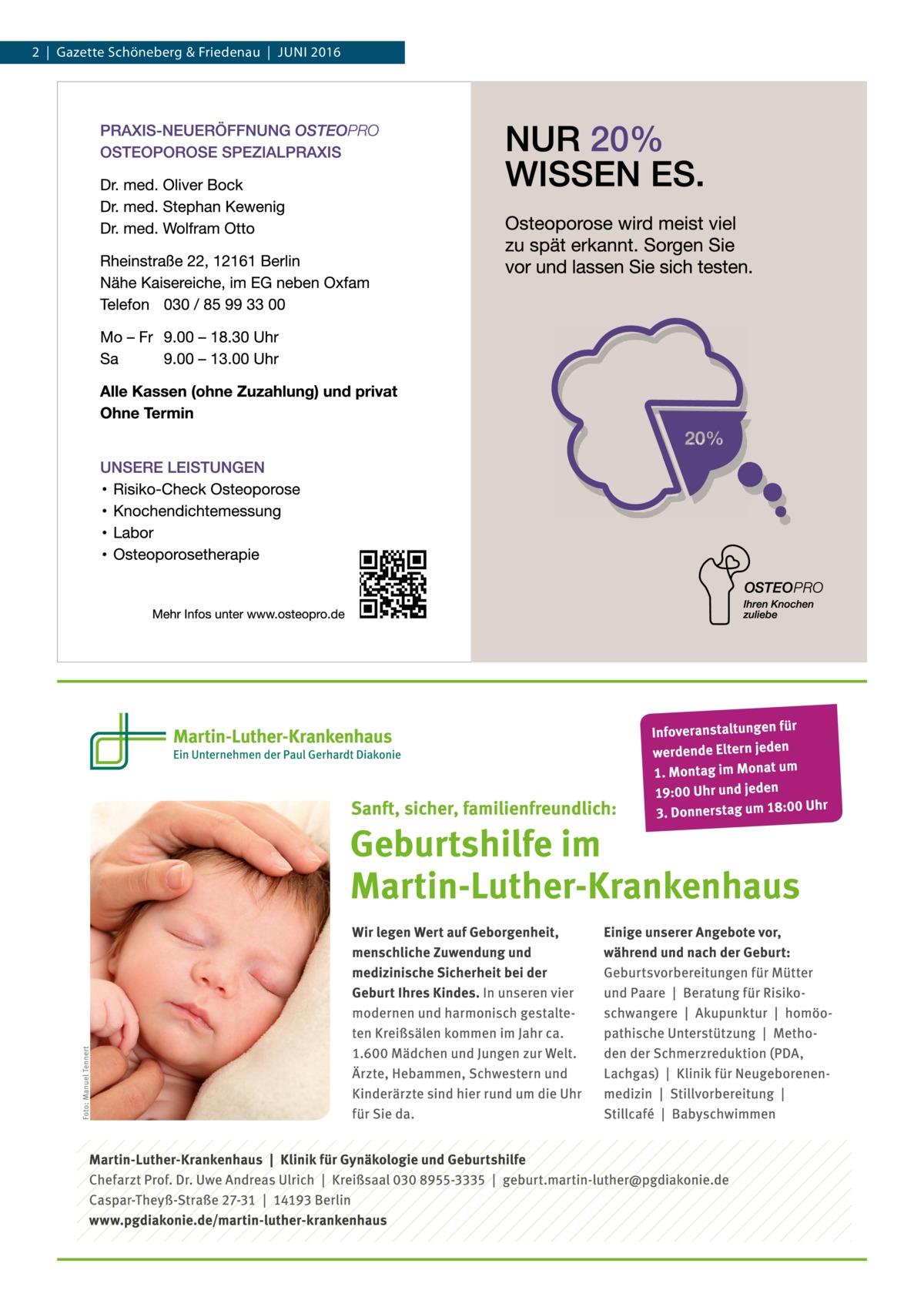 2|Gazette Schöneberg & Friedenau|Juni 2016