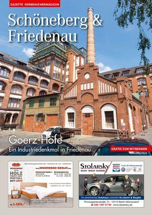 Titelbild Schöneberg & Friedenau 7/2016