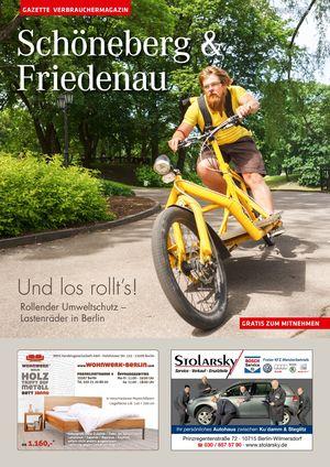 Titelbild Schöneberg & Friedenau 8/2016