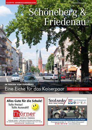 Titelbild Schöneberg & Friedenau 9/2016
