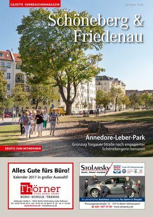 Titelbild Schöneberg & Friedenau 10/2016