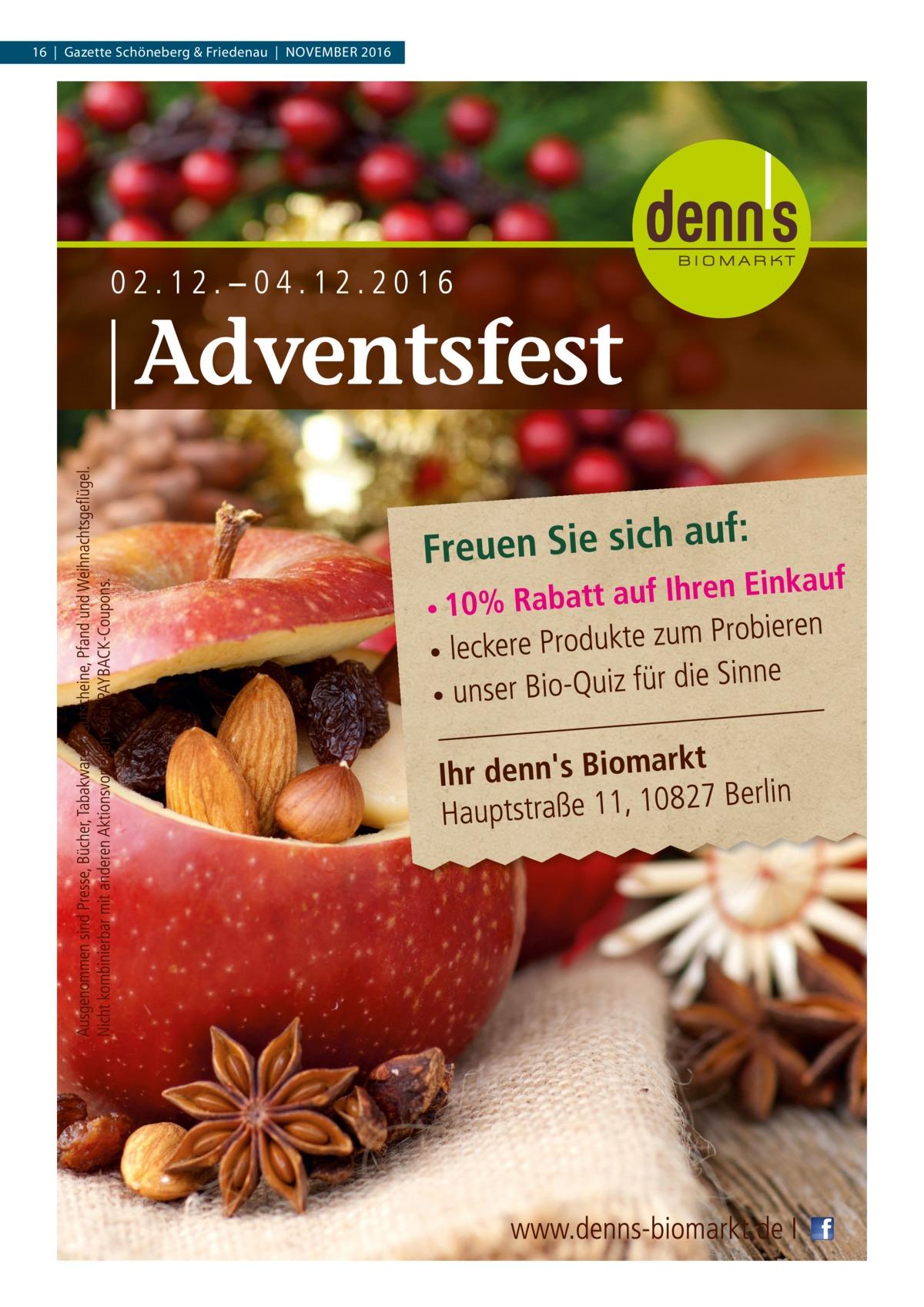 16|Gazette Schöneberg & Friedenau|November 2016