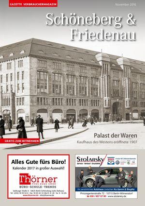 Titelbild Schöneberg & Friedenau 11/2016